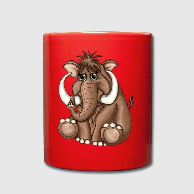 Mammoth Norbert - Full Colour Mug