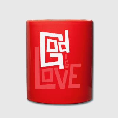 God is Love - Full Colour Mug