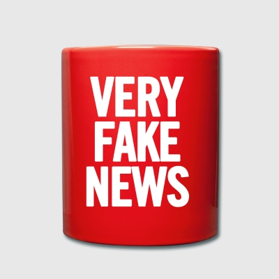 Very Fake News White - Full Colour Mug