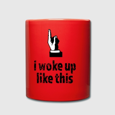Woke up like this - Full Colour Mug