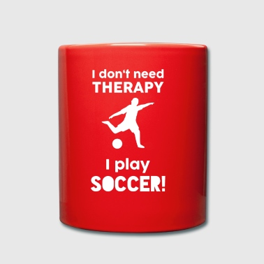 Football Sports Therapy Funny Sayings Gift - Full Colour Mug