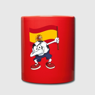 Spain Dabbing football - Full Colour Mug