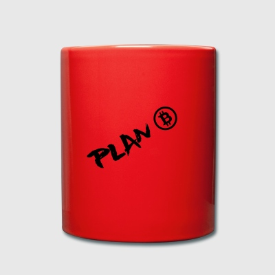 Plan B, Bitcoin, the digital currency of tomorrow - Full Colour Mug
