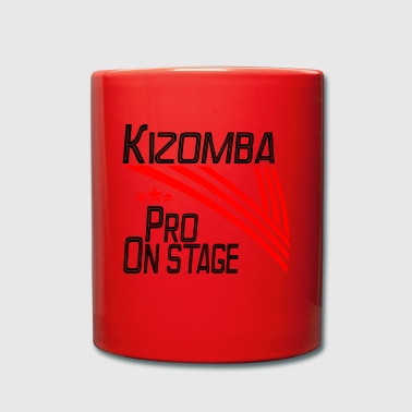 Kizomba Pro - On Stage negro - Pro Dance Edition - Taza de un color