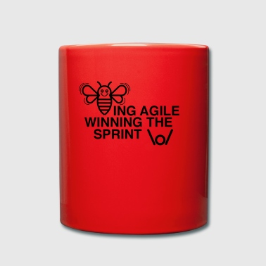 BEING AGILE WINNING THE SPRINT - Full Colour Mug