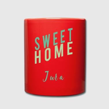 Home sweet Jura swiss Home shirt heimat - Tasse einfarbig