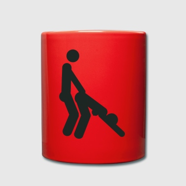 Doggystyle sex position (shotgun) - Full Colour Mug