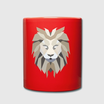lion's head - Full Colour Mug