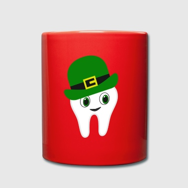 Funny Irish American Dentist St Patrick's Day - Full Colour Mug