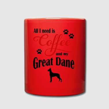 Great Dane Coffee - Enfärgad mugg
