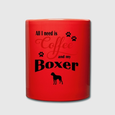 Boxer Coffee - Full Colour Mug