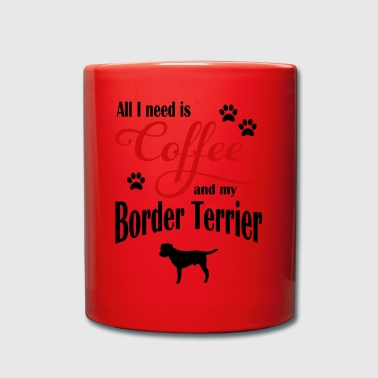Border Terrier Coffee - Kubek jednokolorowy