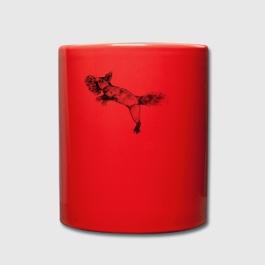 Jumping squirrel - Full Colour Mug