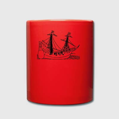 sailing ship - Full Colour Mug