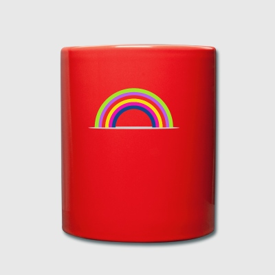 rainbow - Full Colour Mug