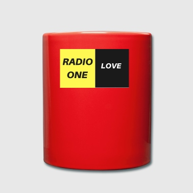 RADIO ONE LOVE - Tasse en couleur