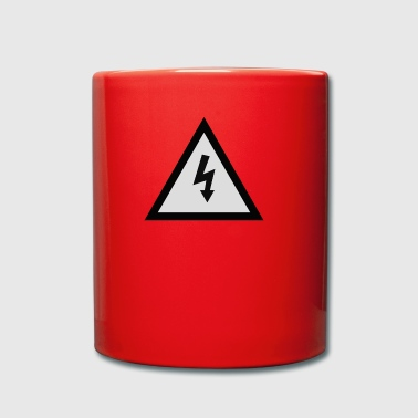 electricity danger signal - Full Colour Mug