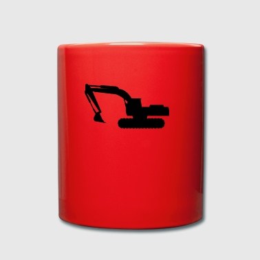 excavator - Full Colour Mug