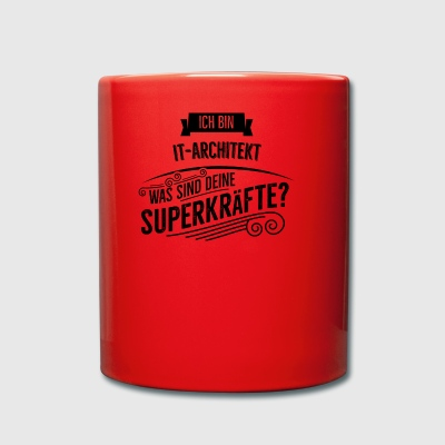 IT Architekt - Tasse einfarbig
