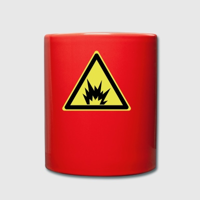Attention explosive - Tasse en couleur