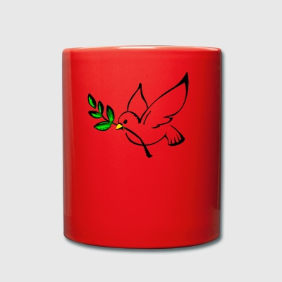 dove of peace - Full Colour Mug