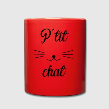 chat - Tasse en couleur