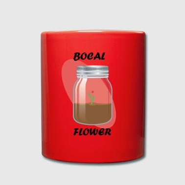 Flower jar - Full Colour Mug