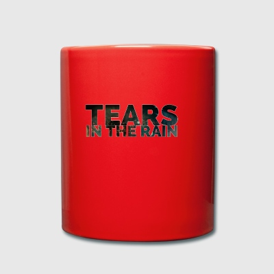 Tears in the rain - Full Colour Mug