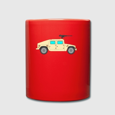 Military vehicle - Full Colour Mug