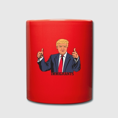 IMMIGRANT TRUMP - Full Colour Mug
