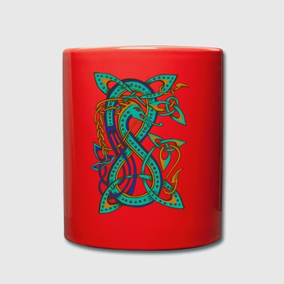 Celtic dragon - Tasse en couleur