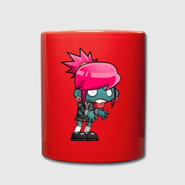 Zombie teen - Full Colour Mug