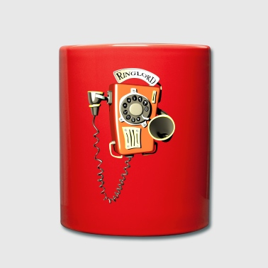 Ringlord phone wall phone - Full Colour Mug