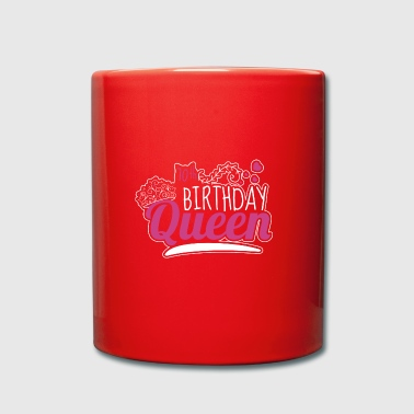 70th Birthday / Years 70th Birthday Queen Gift - Full Colour Mug