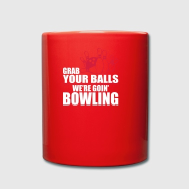 Bowler Bowling ball humor - Full Colour Mug