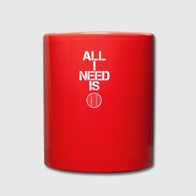 all i need gift gift hobby sport cycling maturity - Full Colour Mug