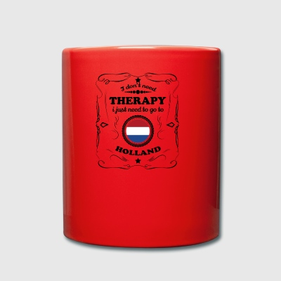 DON T NEED THERAPIE GO HOLLAND - Tasse einfarbig