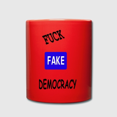 fake democracy - Full Colour Mug