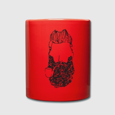 barba - Taza de un color