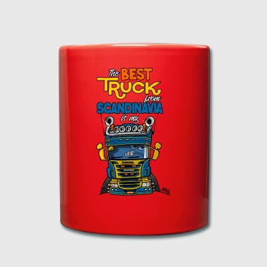 323 truck from Sweden - Full Colour Mug