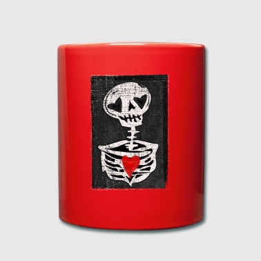 Love skeleton - Full Colour Mug