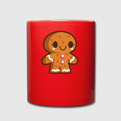 Gingerbread man - Full Colour Mug