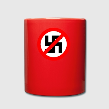 against Nazis - Full Colour Mug