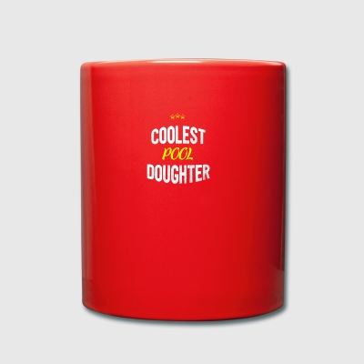 Distressed - COOLEST POOL DAUGHTER - Full Colour Mug