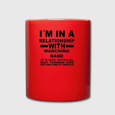 relationship with MARCHING BAND - Tasse einfarbig