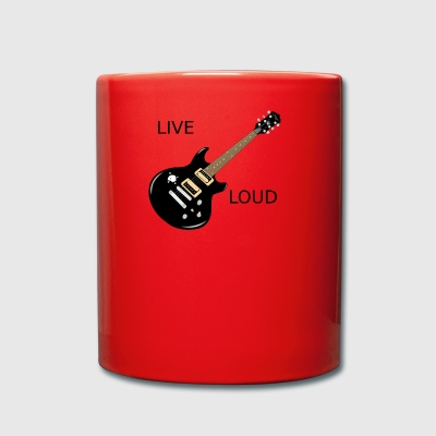 LIVE LOUD - Full Colour Mug