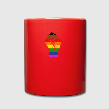 Colormore Orgoglio Rainbow Flag LGBT Philly - Tazza monocolore