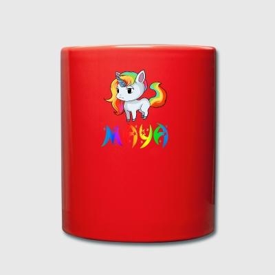 mayan unicorn full colour mug
