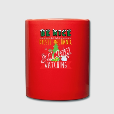 Diesel Mechanic Christmas Gift Idea - Full Colour Mug
