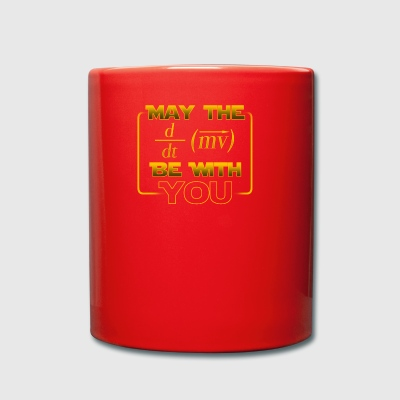 May the power be with you - gift - Full Colour Mug